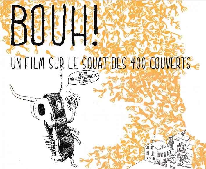 Bouh ! Un film sur le squat des 400 couverts